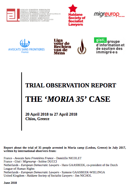 Trial Observation Report – Moria 35
